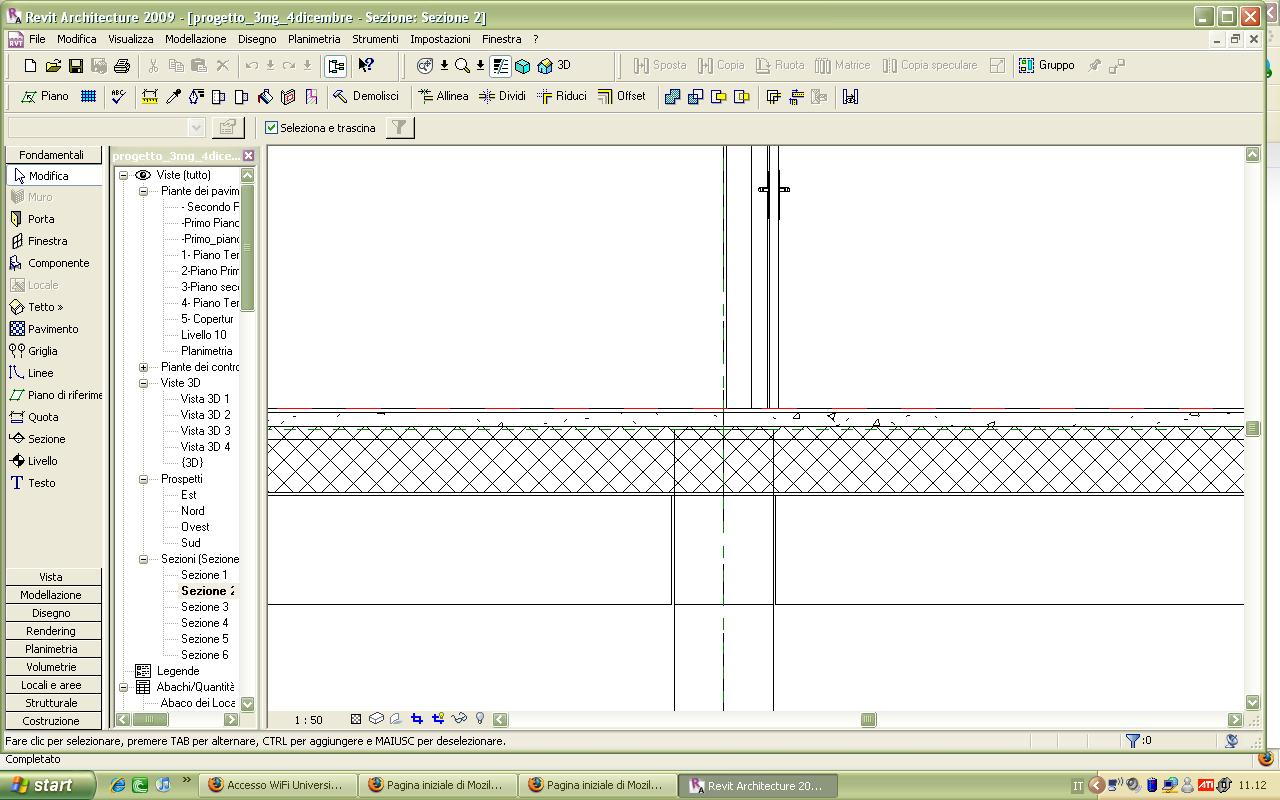 visualizzazione travi e pilastri Tecniche Parametriche