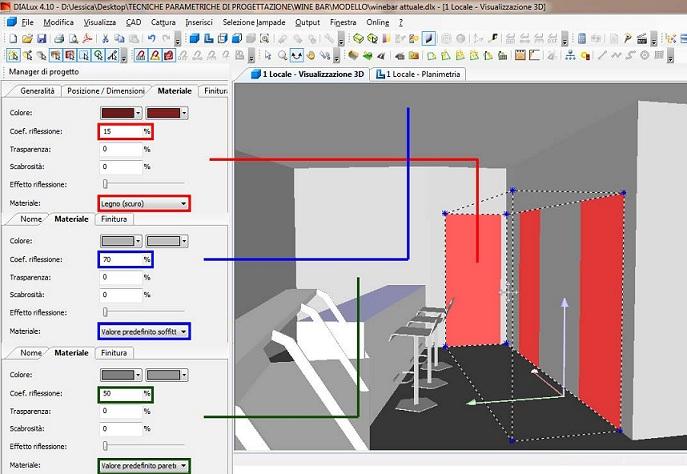 Primo Approccio A Dialux 1 2 Tecniche Parametriche Di Progettazione 2012