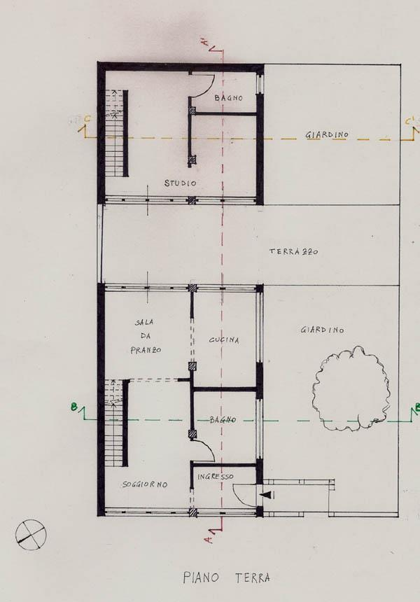 Progetto di francesca miozzi e piergiorgio iacovelli for Piano casa palestra