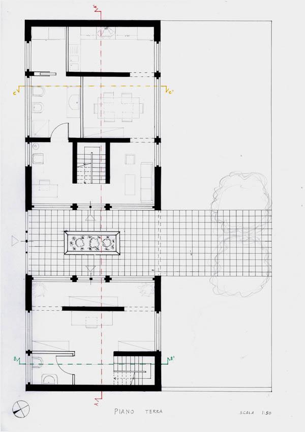 Pianta Di Una Casa A Un Piano Cool Finest Pianta Casa Mq Top