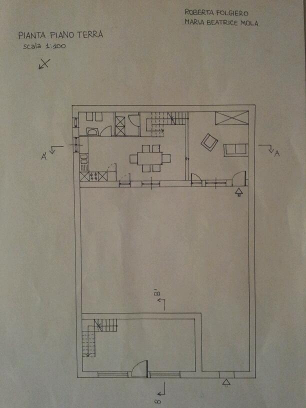 Progetto di maria beatrice mola e roberta folgiero for Strumento di layout piano terra