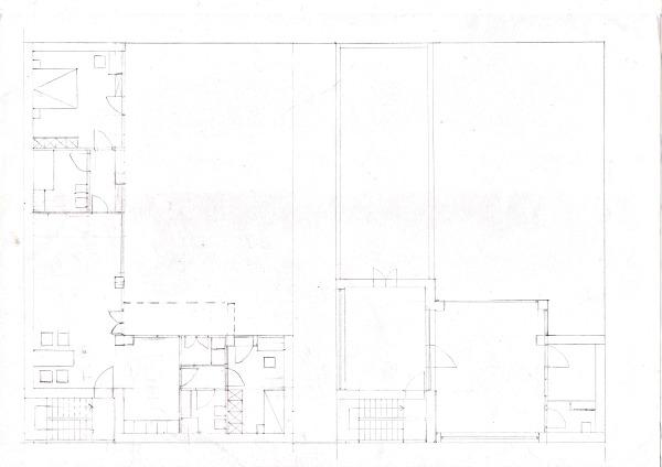 Progetto di elena luongo e bianca fabiani laboratorio di for Garage con al piano di sopra