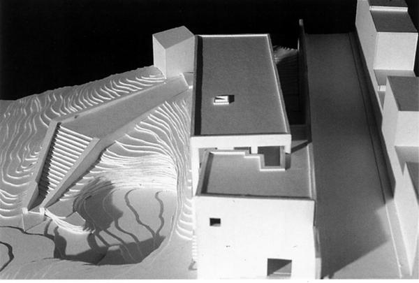 Esempi di plastici laboratorio di progettazione 1b for Software di progettazione del modello di casa