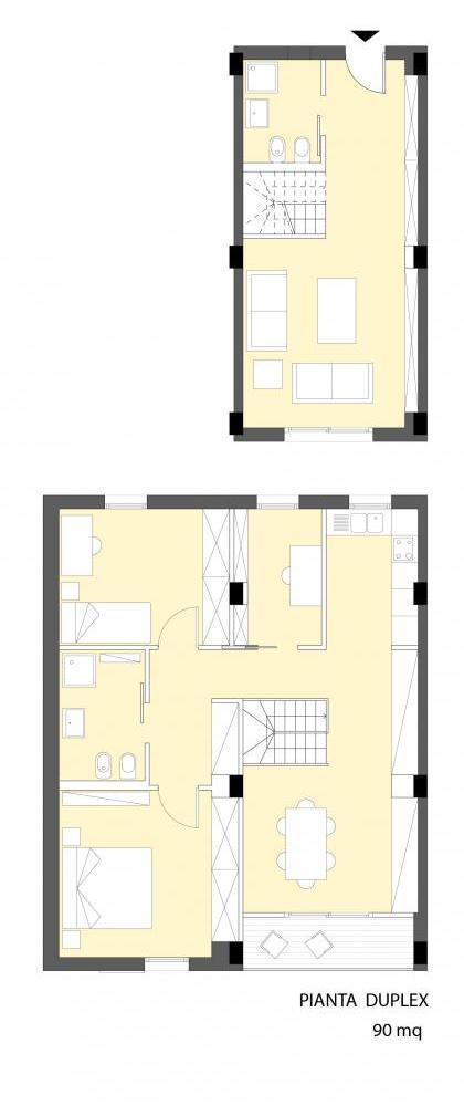 Progetto di michela marinelli benedetta vittozzi for Laboratorio con alloggi