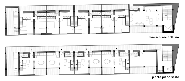 Progetto aquilino farina laboratorio di progettazione 1b for Piani di costruzione duplex
