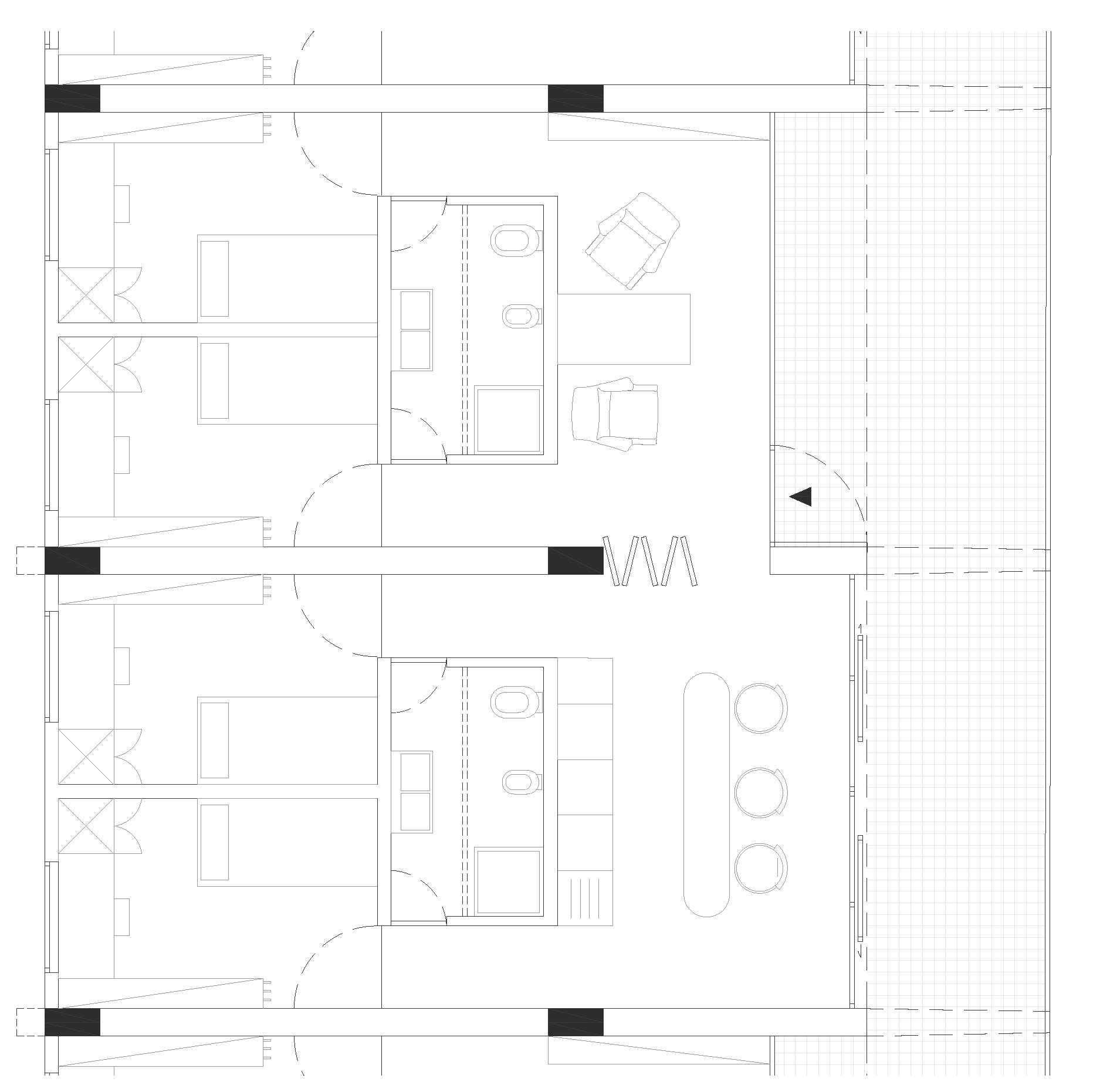 Progetto di azzariti monari laboratorio di for Laboratorio con alloggi