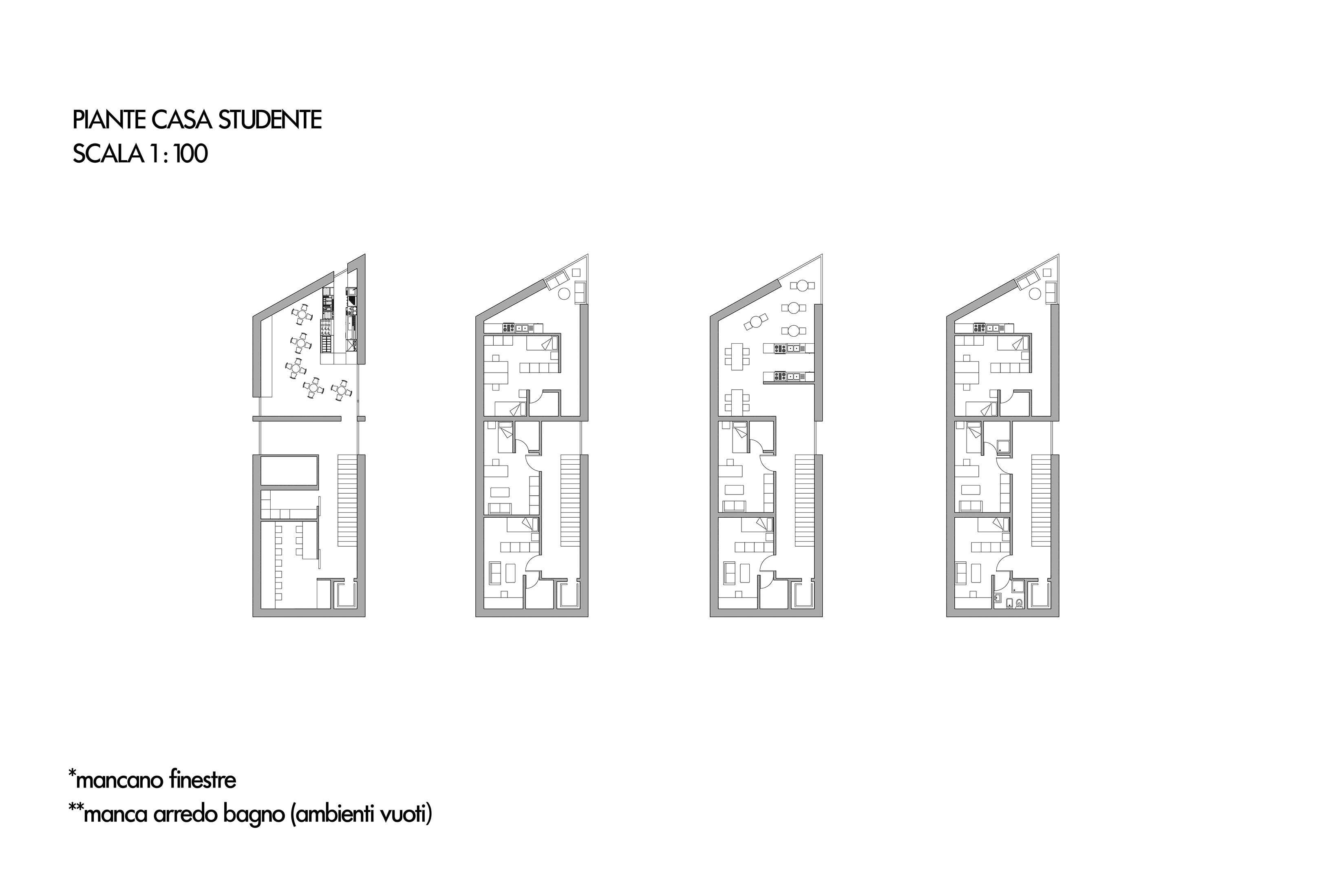 Progetto di devreux luongo delli carri laboratorio for Laboratorio con alloggi