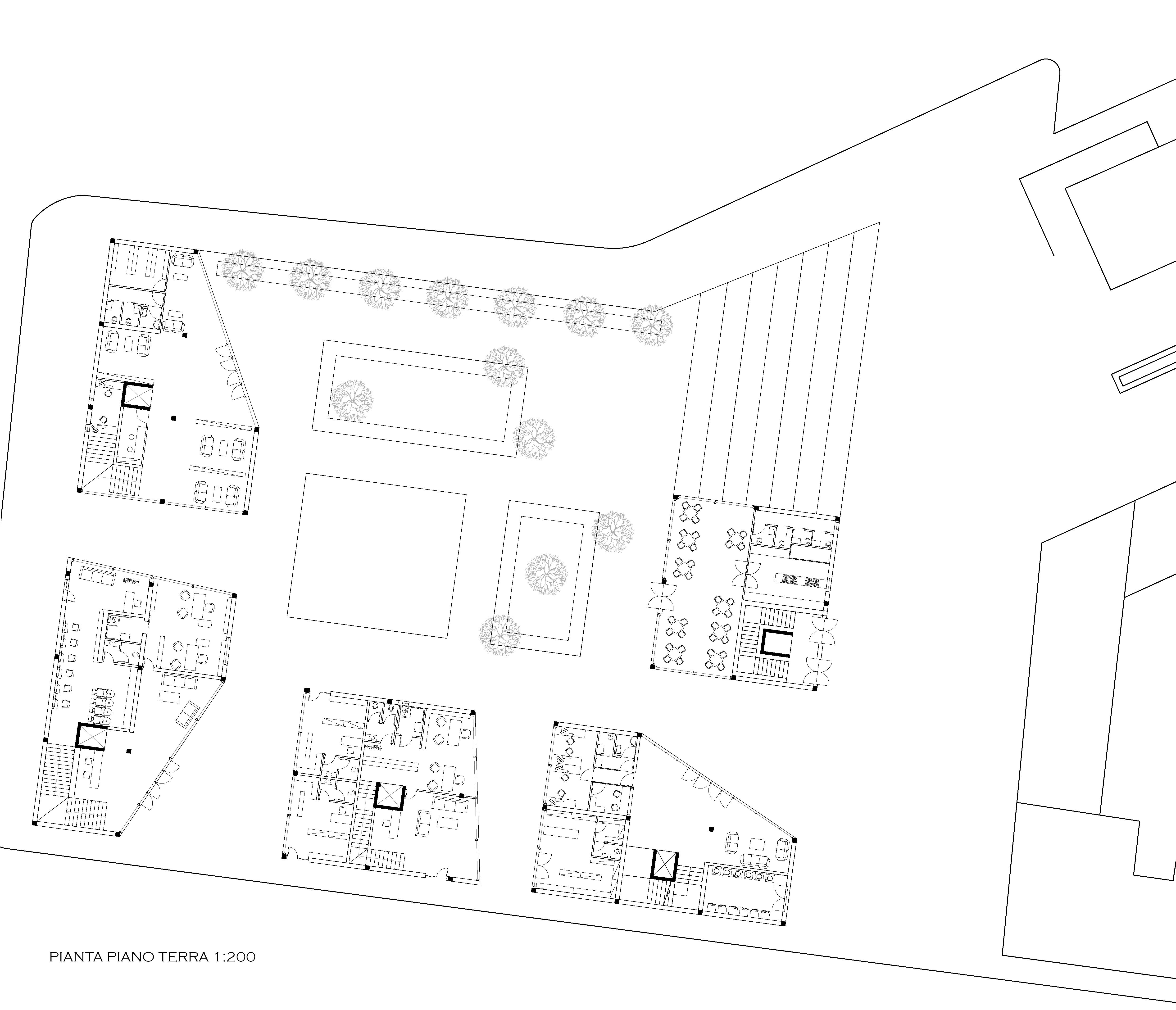 Progetto di del priore cabibbo laboratorio di for Strumento di layout piano terra