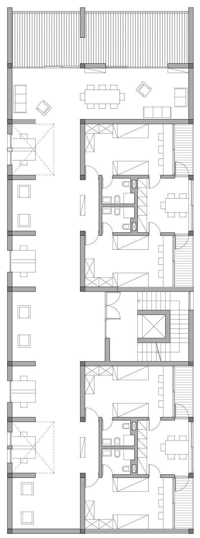 Progetto di colafranceschi gioia ngo dinh for Laboratorio con alloggi