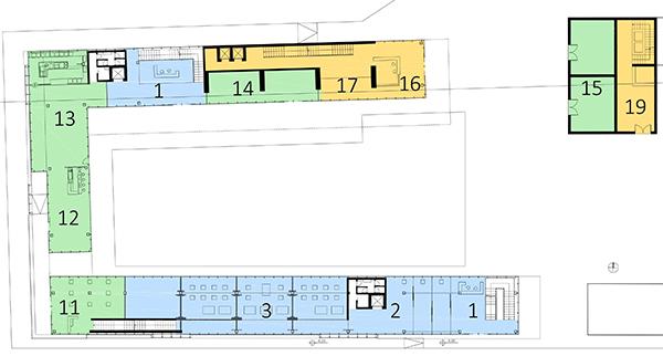 Progetto di ambrogioni del conte laboratorio di for Strumento di layout piano terra