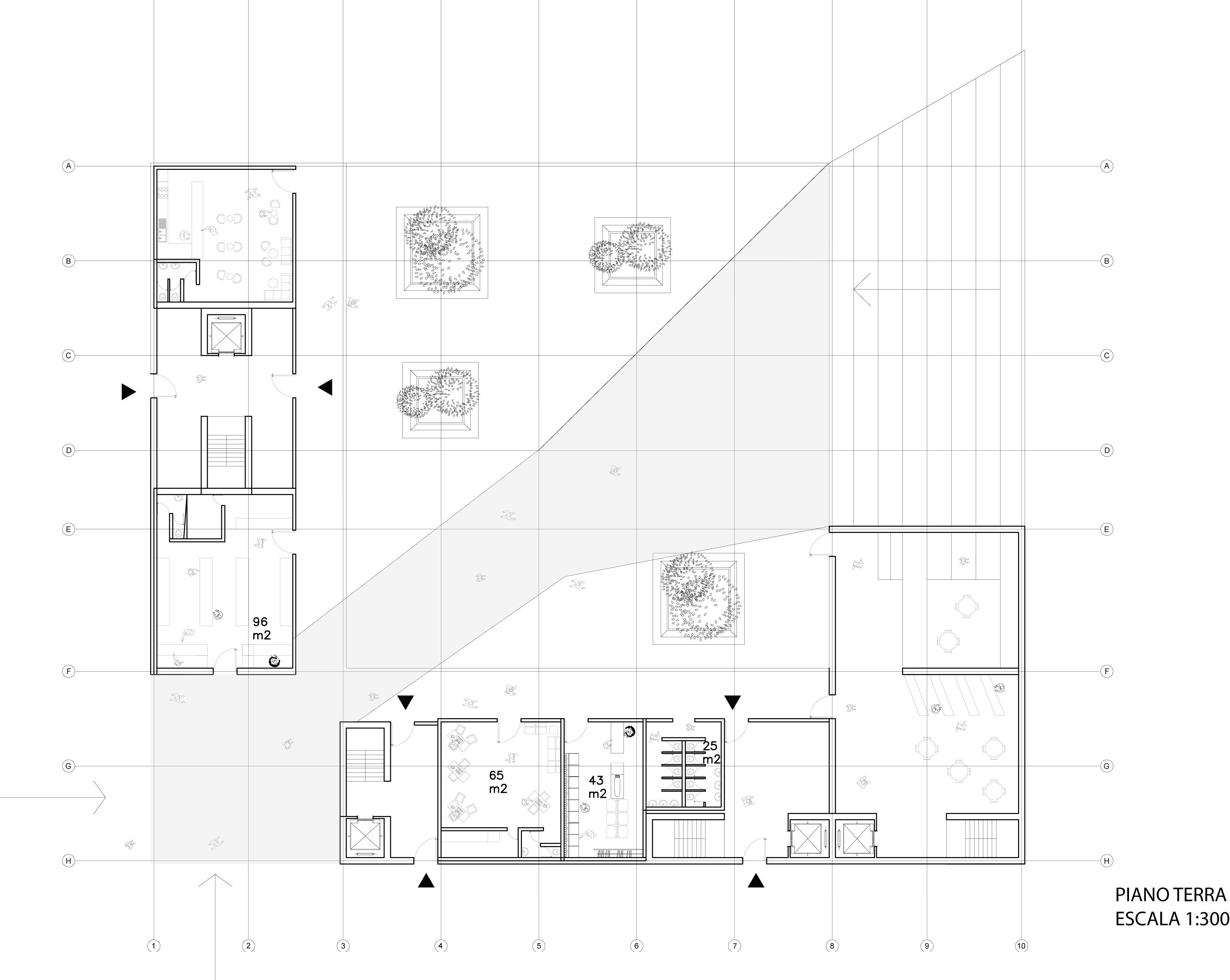 Progetto di antonio ceballos conejero laboratorio di for Strumento di layout piano terra