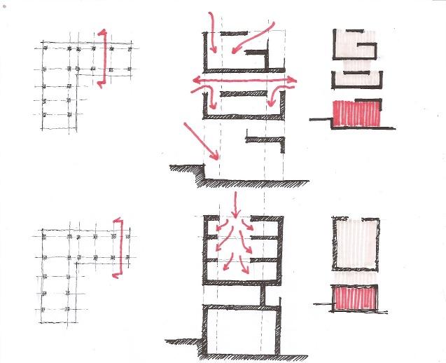 Progetto di giulia franceschini camilla lebboroni for Laboratorio con alloggi
