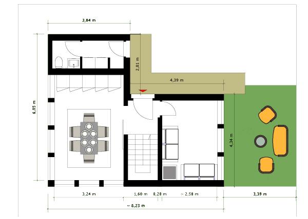 Progetto di alessandro lattanzi laboratorio di for Strumento di layout piano terra
