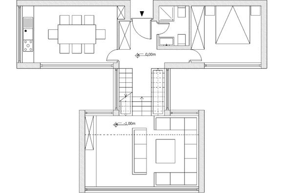 Progetto di valerio orlandi laboratorio di progettazione 1b for Progetto piano terra