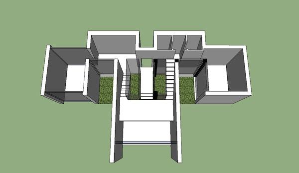 Progetto di valerio orlandi laboratorio di progettazione 1b for Piano di layout di progettazione della casa