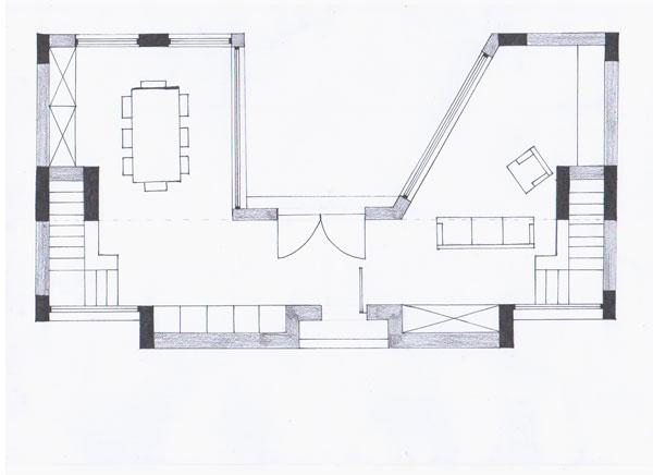 Progetto di eleonora fiore e silvia mezzetti laboratorio for Strumento di layout piano terra