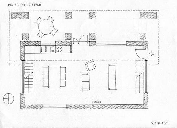 Progetto di eleonora fiore e silvia mezzetti laboratorio for Piano vetrata