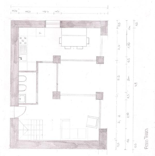 Progetto di giulia lopes ferreira e alessia ottone for Strumento di layout piano terra