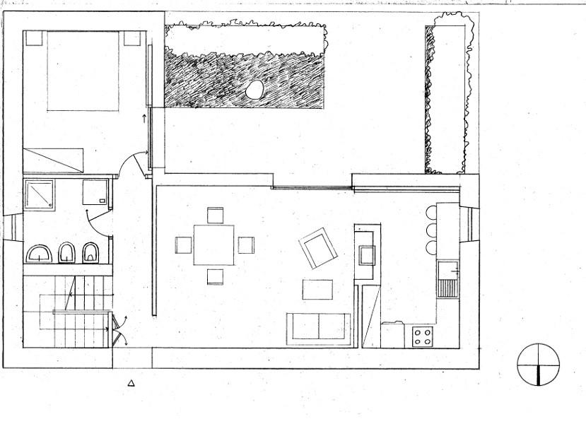 Progetto di luca giardino laboratorio di progettazione 1b for Progetto piano terra