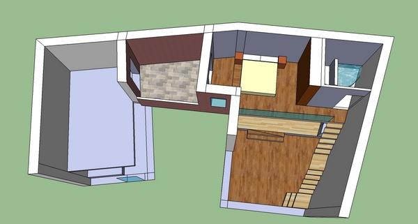 Progetto di ionut girneata e ginevra guercini for Design e rimodellamento della casa sud occidentale