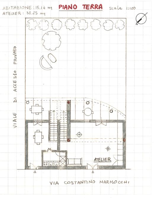 Progetto di silvia marchetti e elisa minozzi laboratorio for Piani di progettazione domestica