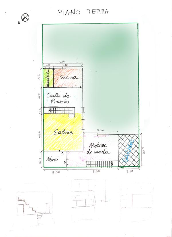 Progetto di silvia marchetti e elisa minozzi laboratorio for Strumento di layout piano terra