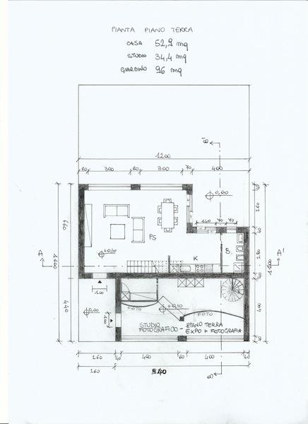 Progetto di diana marchi e matteo marcotulli laboratorio for Strumento di layout piano terra