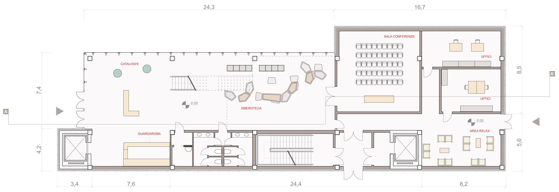 Seconda consegna curio de simone laboratori di for Strumento di layout piano terra