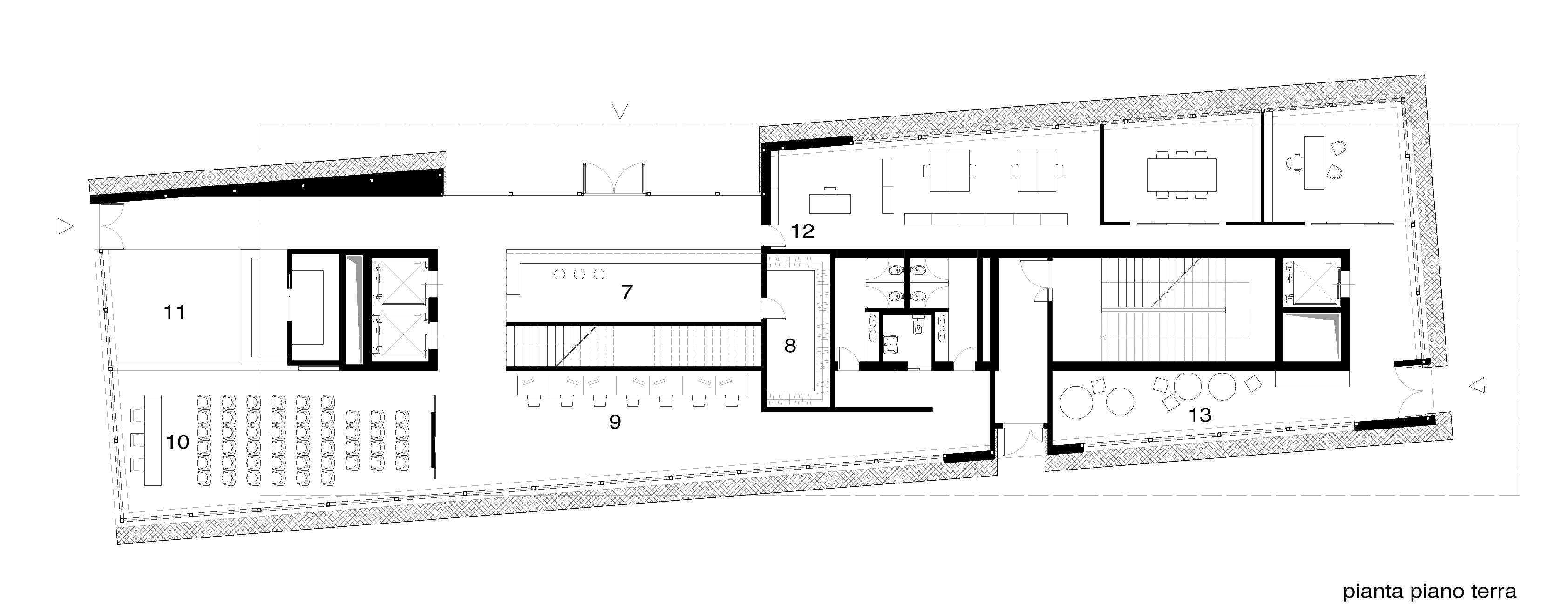 Consegna 02 gruppo icovi jencinella tanci laboratori for Strumento di layout piano terra