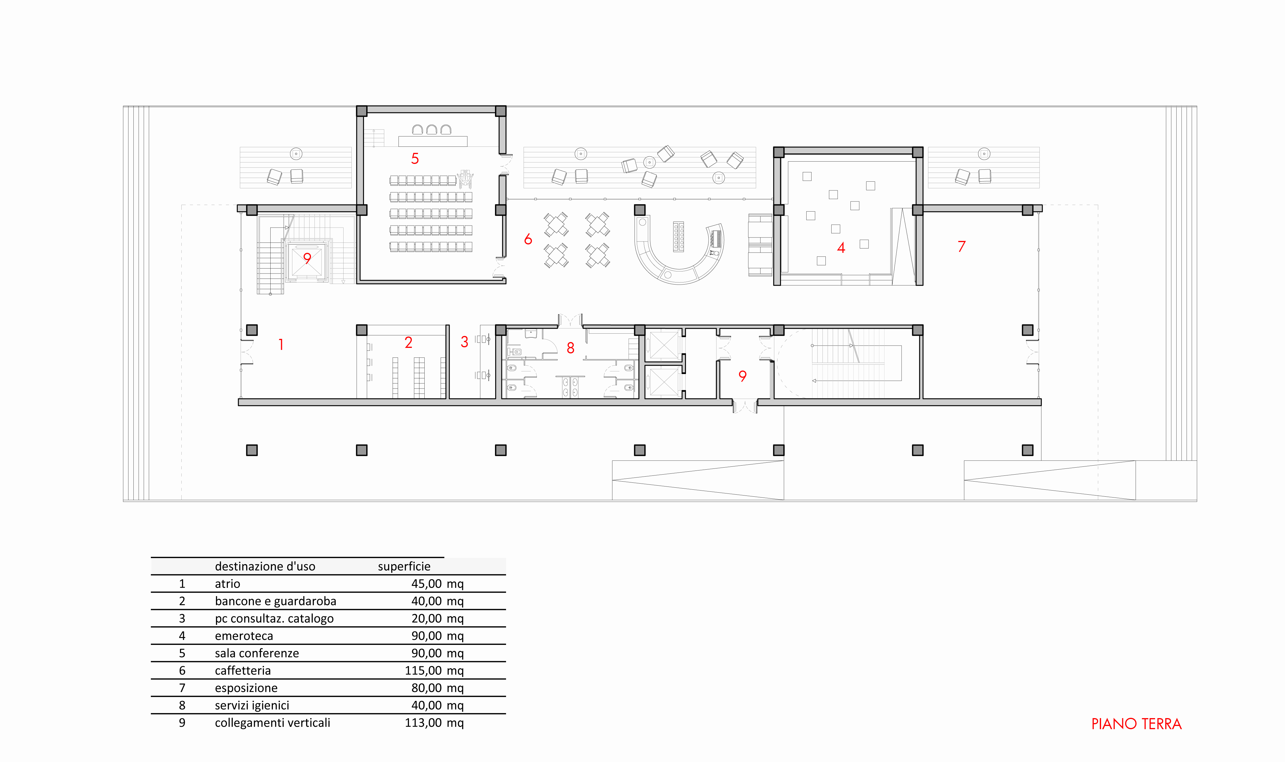 Consegna 2 boni carducci laboratori di progettazione 3m for Strumento di layout piano terra