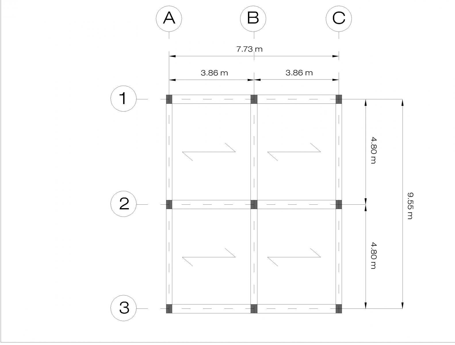 Prima esercitazione travatura reticolare simmetrica for Software di progettazione domestica di piano terra