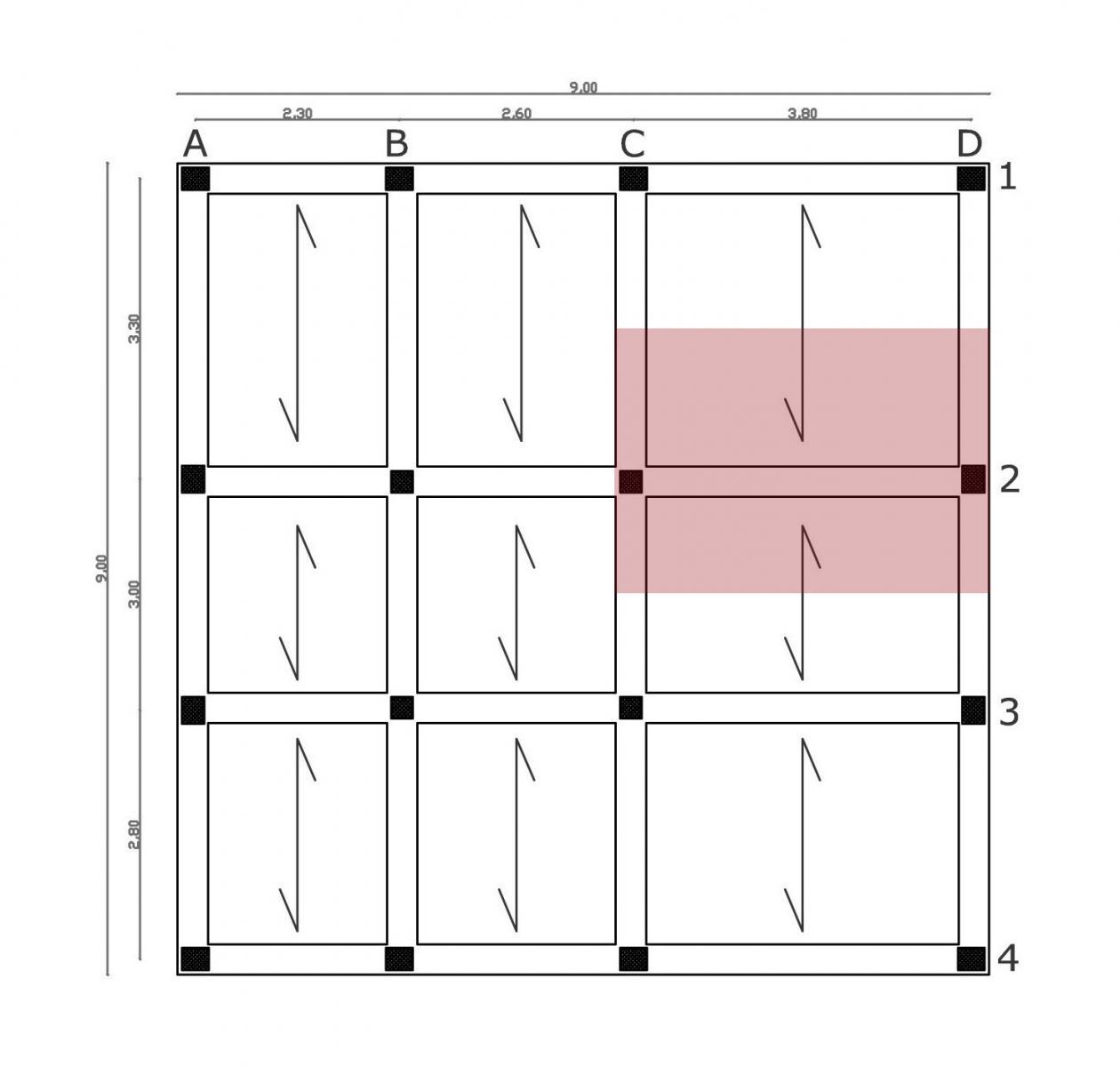Francesca petri portale di meccanica for Planimetrie di pontili e travi